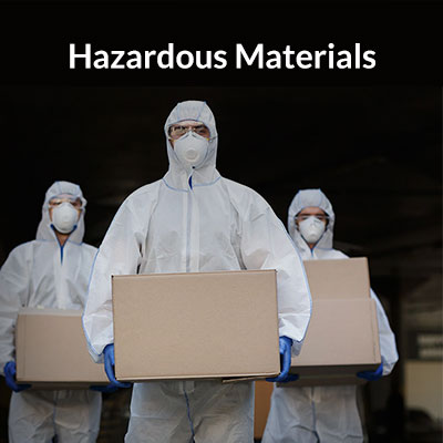Hazardous Materials Air Cargo and Shipping